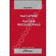 Noul Cod penal actualizat 5 ianuarie 2012. Noul Cod de procedura penala. Cu expuneri de motive si indexuri alfabetice