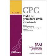 Codul de procedura civila si 13 legi uzuale actualizat 16 ianuarie 2012