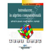 Introducere in algebra computationala. Volumul. II - aplicatii in grupuri, ecuatii algebrice, topologie