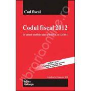 Codul fiscal 2012 cu ultimele modificari aduse prin O.U.G. nr. 125/2011