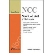 Noul Cod civil si 9 legi uzuale. Actualizat 16 ianuarie 2012