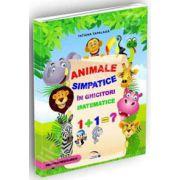 Animale simpatice in ghicitori matematice