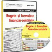 CD - Colectie completa Bugete si formulare financiar - contabile