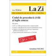 Codul de procedura civila si legile conexe (actualizata la data de 5 februarie 2012)