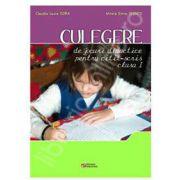 Culegere de jocuri didactice pentru citit-scris clasa a I-a