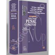 Noul Cod penal comentat. Partea generala. Volumul I