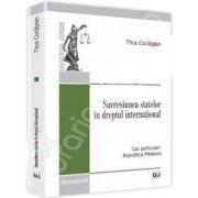 Succesiunea statelor in dreptul international. Caz particular: Republica Moldova