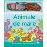 Animale de mare - carte cu magneti