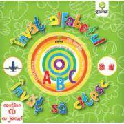 Invat alfabetul, invat sa citesc (contine CD cu jocuri)