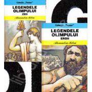 Colectia,, Tezaur'Legendele Olimpului in 2 volume. Eroii si Zeii