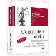 Contractele civile. Contine grile conform Noului Cod civil (In Noul Cod civil, editia a II-a revazuta si adaugita)