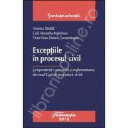 Exceptiile in procesul civil. Jurisprudenta comentata si reglementarea din noul Cod de procedura civila