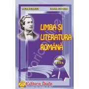 Limba si literatura romana culegere pentru clasa a VII-a