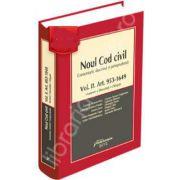 Noul Cod civil. Comentarii, doctrina, jurisprudenta - Volumul. II. Art. 953-1649 (Mosteniri si liberalitati. Obligatii)
