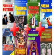 Pachet pentru Psihologie practica. Psihologia afacerilor, apararii, influentei, invingatorilor, puterii, sociala, comunicarii, succesului