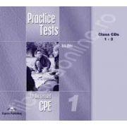 Teste de limba engleza. Practice test for the revised CPE 1 - Class CD (Audio CD set de 6 cd-uri)