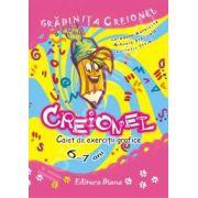 Gradinita Creionel - caiet de exercitii grafice 6-7 ani