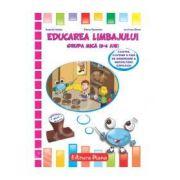 Educarea limbajului grupa mica (3-4 ani)