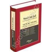 Noul Cod civil - comentarii, doctrina, jurisprudenta - Volumul III