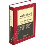 Noul Cod civil - comentarii, doctrina, jurisprudenta - Volumul II