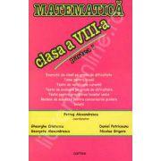 Matematica clasa a VIII-a, Partea a I-a (Petrus Alexandru)