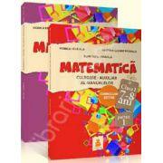 Matematica pentru clasa I (7-8 ani), culegere - auxiliar al manualelor. Curriculum extins, partea I si partea a II-a