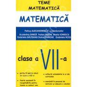 Matematica pentru clasa a VII-a, teme de matematica (Petrus Alexandru)