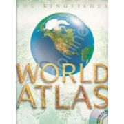 World Atlas - The Kingfisher (Including CD-ROM)