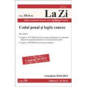 Codul penal si legile conexe (actualizat la 20 aprilie 2012)