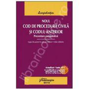 Noul Cod de procedura civila si Codul anterior. Prezentare comparativa (Actualizat 1 iunie 2012)