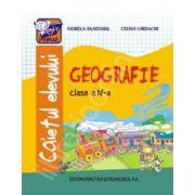 Geografie caietul elevului clasa a IV-a (Celina Iordache)