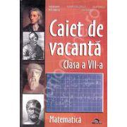 Caiet de Vacanta Matematica pentru clasa a VII-a