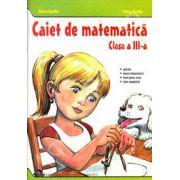 Caiet de matematica clasa III (Maria Gardin)