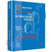 Codul de procedura fiscala (Comentat si adnotat). Actualizat la 10 iunie 2012