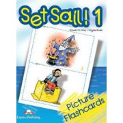 Curs pentru limba engleza Set Sail 1 - FLASHCARDS