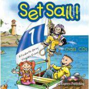 Curs pentru limba engleza Set Sail 1 audio (SET 2 CD)