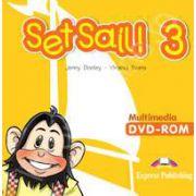 Curs pentru limba engleza Set Sail 3. Multimedia DVD-rom