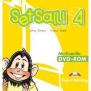 Curs pentru limba engleza Set Sail 4. Multimedia DVD-rom