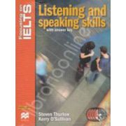 Listening and speaking skills with answer key and Audio CD - Focusing on IELTS