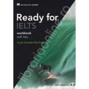 Ready for IELTS workbook with Answer Key and Audio CD
