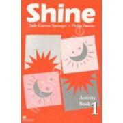Shine Level 1 Activity Book. Caiet de limba engleza pentru clasa a VI-a