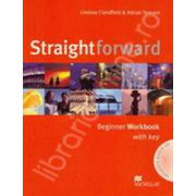 Straightforward Beginner Workbook with Answer Key Pack and CD