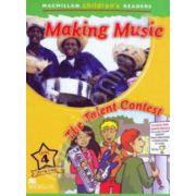 The Music Around Us - The talent contest. Macmillan Children's Readers Level 4. Pre-Intermediate