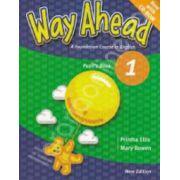 Way Ahead 1 Pupil's Book with CD-Rom. Manual de limba engleza pentru clasa a III-a