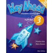 Way Ahead 3 Pupil's Book with CD. Manual de limba engleza pentru clasa a V-a
