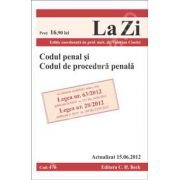 Codul penal si codul de procedura penala (actualizat la 15.06.2012)