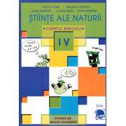 Stiinte ale naturii clasa a IV-a. Caietul elevului