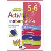 Activitati matematice, fise pentru munca independenta. Grupa mare 5-6 ani