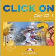 Curs de limba engleza Click On 3. Class audio CD (Set 5 CD)
