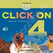 Curs de limba engleza Click On 4. DVD